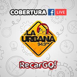 """Cobertura de """"La Urbana"""" Facebook Live en Lanzamiento RecarGO!"""