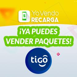 ¡Ya puedes vender paquetes Tigo en YoVendoRecarga!